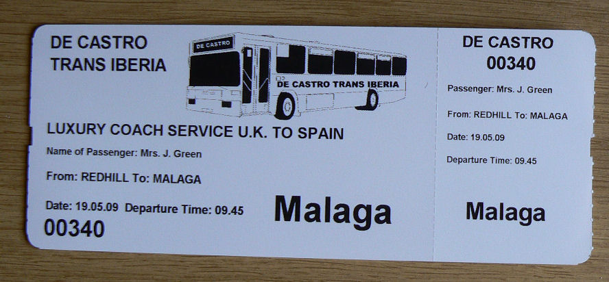 Coach Tickets,Boarding Cards,Passeneger Boarding Cards,Passenger Tickets,Travel Tickets