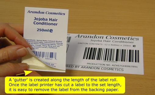 Adjustable Height Labels