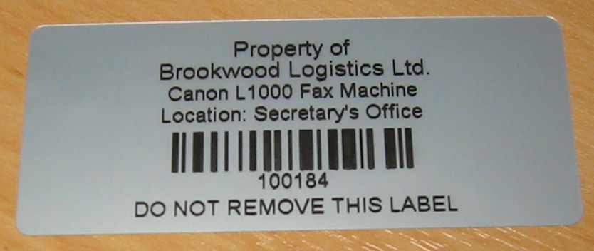 Asset Labels,Asset Management Labels,Asset Labels with Barcodes,Asset Management Labels with Barcodes