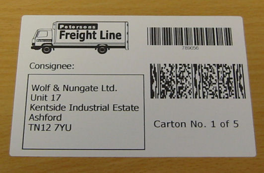 Pallet Labels,Pallet Labels with 2D Barcodes