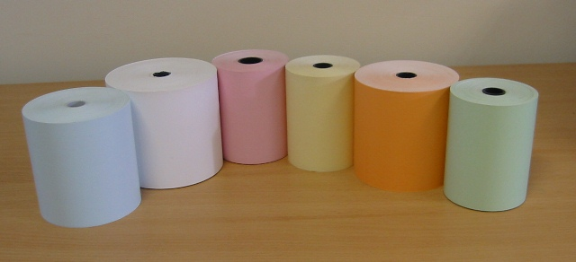 White,Blue,Green,Orange,Pink,Yellow,Direct Thermal Receipt Paper,Direct Thermal Receipt Paper Rolls,Paper Rolls,Thermal Paper,Thermal Paper Rolls,Receipt Paper