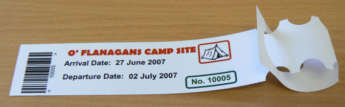 Self Tie On Tent Labels,Tent Tags